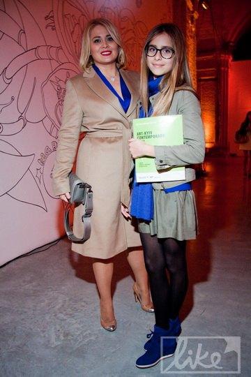 Светлана Евдокименко с дочкой Софией
