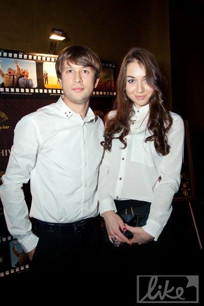 Дмитрий Ступка с избранницей Екатериной