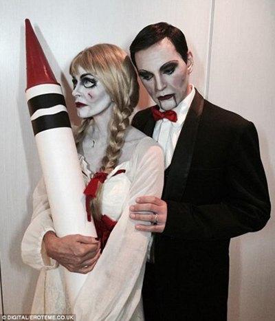 Кортни Кокс с мужем