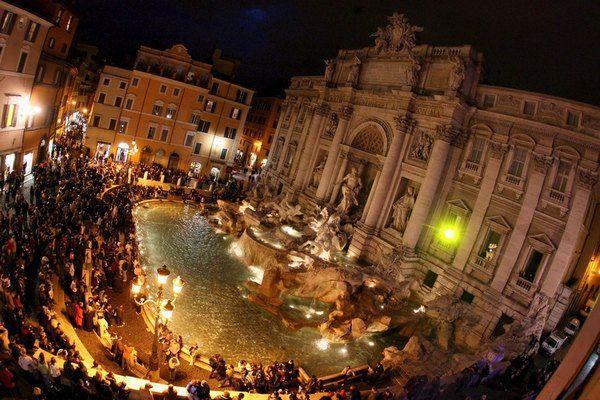 Римский фонтант Треви