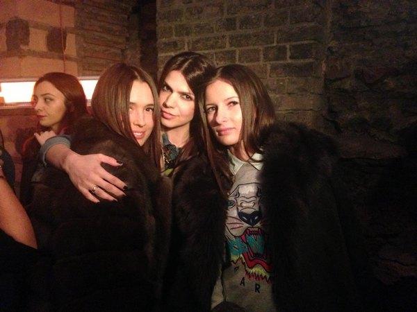 Лиза Ющенко, Алина Алиева и Полина Габович