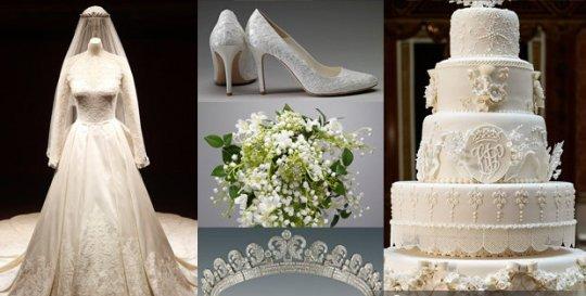 Другие экспонаты из гардероба невесты