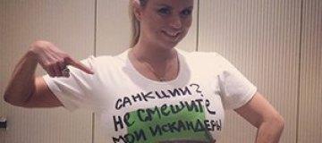 """Анна Семенович: """"Санкции? Не смешите мои """"Искандеры"""""""