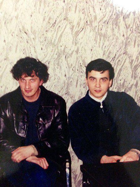 Кузьма Скрябин и Руслан Сеничкин