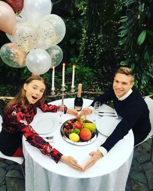 Александр Петренко и Лиза Василенко
