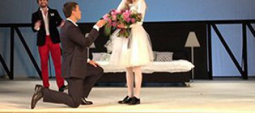 Ходченкова получила предложение руки и сердца на сцене