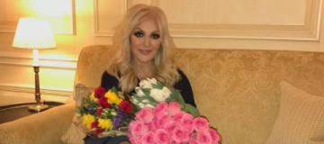 Таисия Повалий засветилась в Киеве