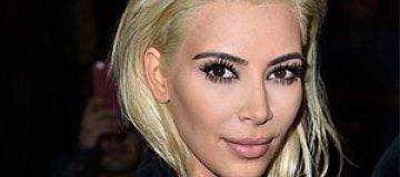 Ким Кардашьян перекрасилась в платиновую блондинку