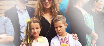 1 сентября 2014: Звезды отправили детей в школу