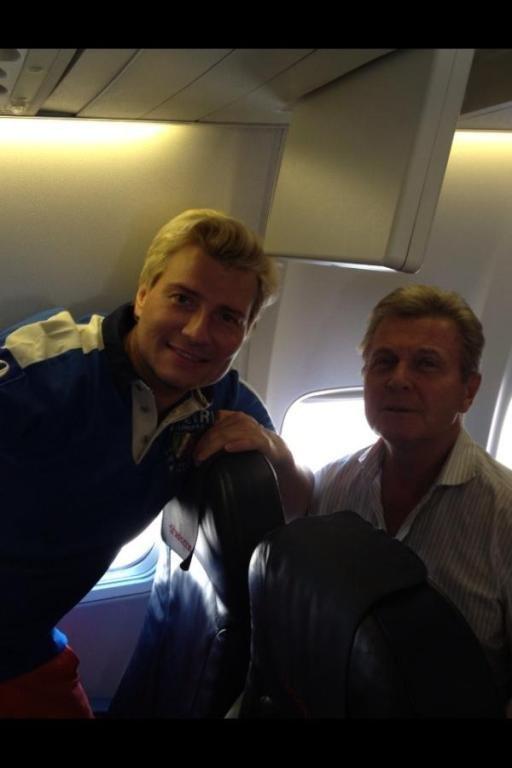 Басков и Лещенко возвращаются домой с дня рождения Кучмы