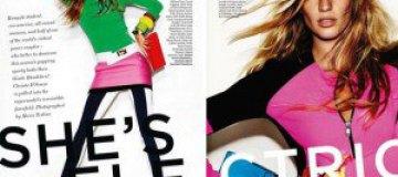 Жизель Бюндхен в британском Vogue