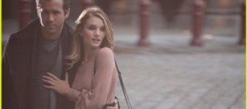 Рози Хантингтон и Райан Рейнолдс снялись в рекламе одежды
