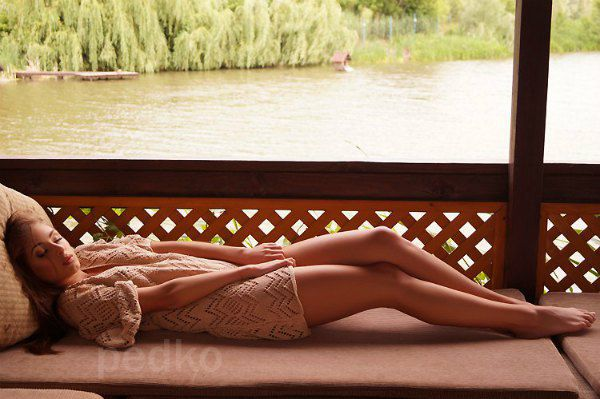 До проекта Алена Лесык уже пробовала себя в качестве модели...