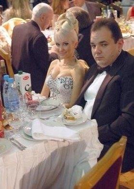 Катя Бужинская с Виталием Барвиненко