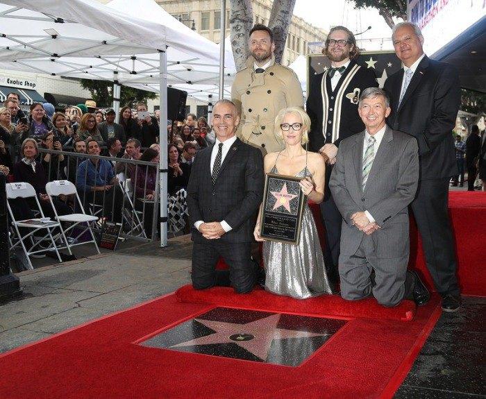 Актриса призналась, что для нее огромная честь - получить звезду