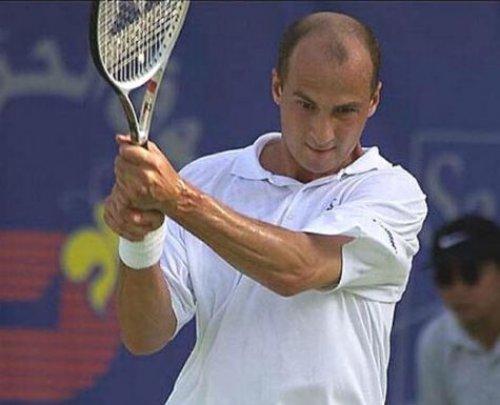 В 1995 году Андрей Медведев дошел до 4-го места в Australian Open