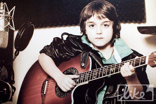 Сын Гарика Кричевского - Даниил (8 лет)