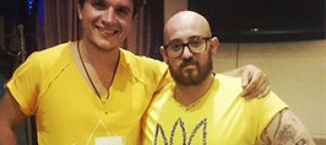Анатолич создал патриотическую футболку для итальянского друга