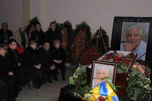 Похороны Михаила Воронина