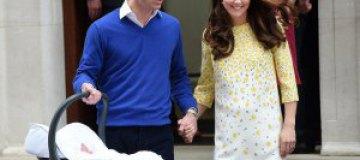 Принц Уильям пожаловался на новорожденную дочь Шарлотту
