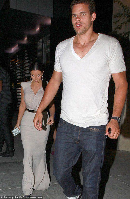 Ким Кардашьян и ее жених, игрок NBA Крис Хамфрис