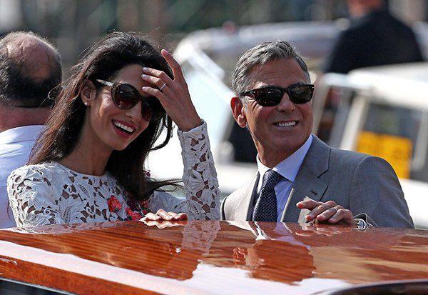 Свадьба Джорджа Клуни и Амаль Аламуддин