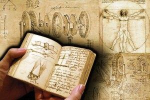 Опубликована записная книжка Леонардо да Винчи