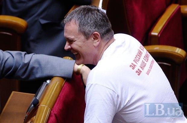 Колесниченко в Раде, год назад (25 мая 2012 года)