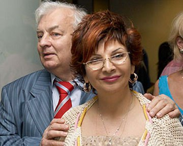 Михаил Державин и Роксана Бабаян