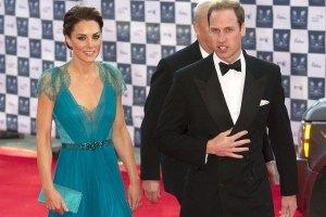 Кейт Миддлтон поразила роскошным платьем