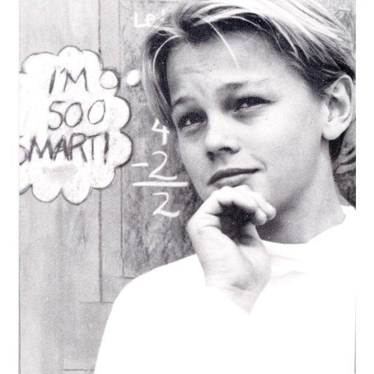Леонардо ДиКаприо (Leonardo DiCaprio), Los Angeles Centre for Enriched Studies, 1991 год