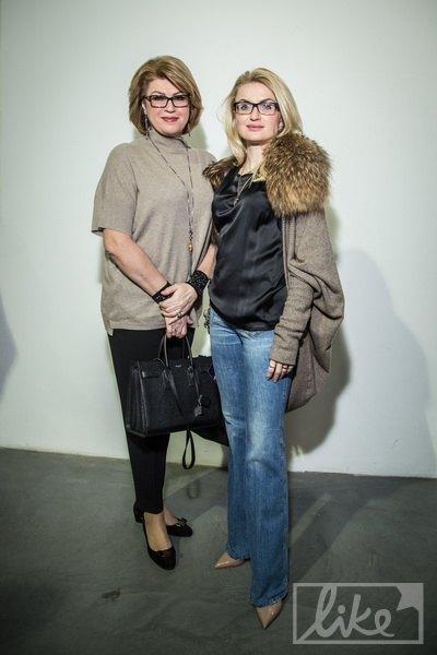 Марина Кинах с дочкой Натальей