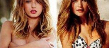 Брегье Хейнен и Бехати Принслу в фотосессии для Victoria's Secret