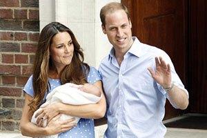 Кейт Миддлтон и принц Уильям назвали сына
