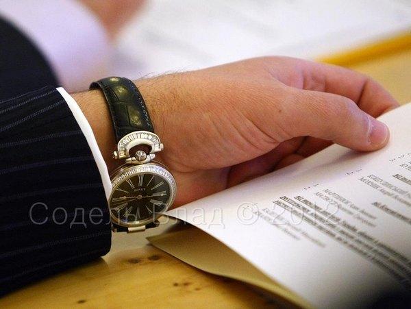 Часы Андрея Клюева Bovet Fleurier Roman Numerals