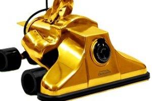 В США богачам продают эксклюзивные золотые пылесосы