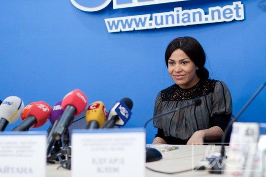 """Представительница Украины на """"Евровидении"""" Гайтана"""