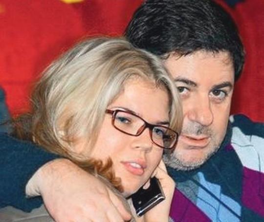 Александр Цекало и его жена Виктория Галушка