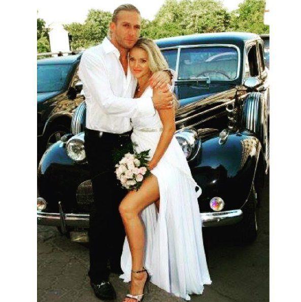 Свадьба пары в 2008 году
