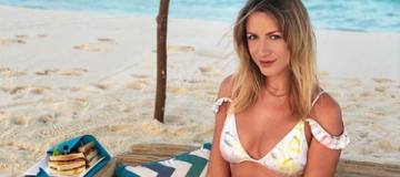 Леся Никитюк на Мальдивах выгуляла 49-й купальник
