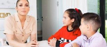 Дженнифер Лопес дала интервью своим 11-летним детям