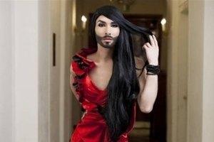 """На """"Евровидении-2014"""" победила бородатая участница от Австрии"""