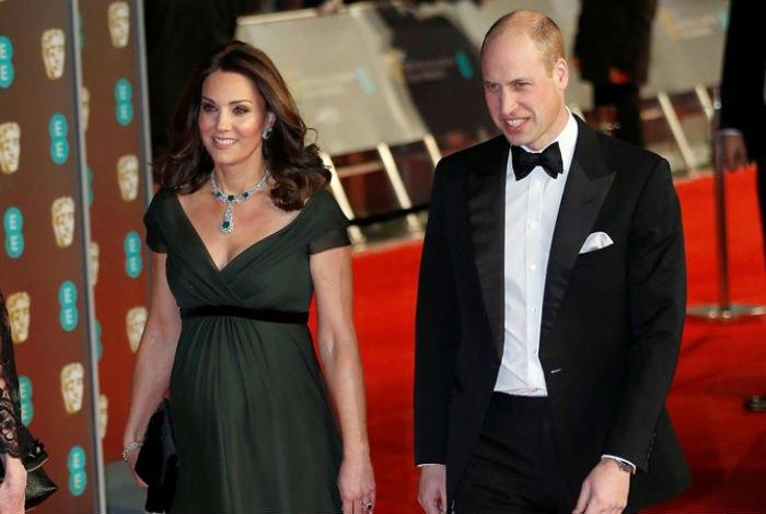 Кейт Миддлтон на церемонии вручения премии BAFTA