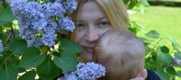 Ирина Геращенко показала сына