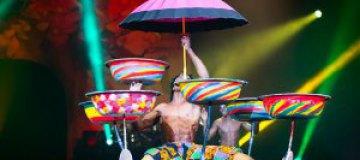 Звезды в цирке: Юрушева, Ступка и Димопулос посмотрели на шоу стоимостью $3 млн