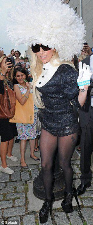 Леди Гага усиленно готовится к церемонии