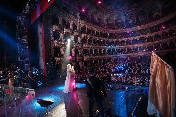 Билык на сцене одесской оперы