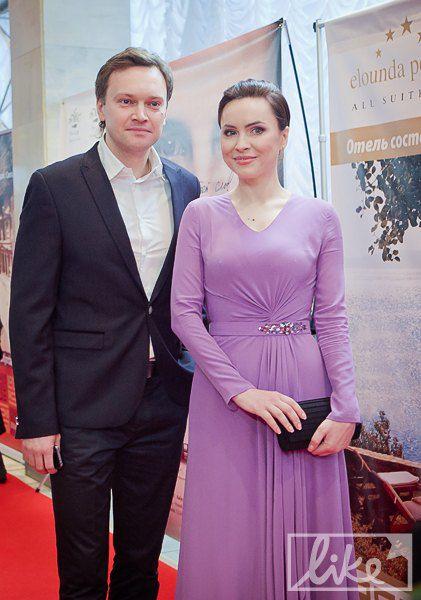 Тележурналист Андрей Данилевич и Анастасия Даугуле