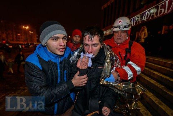 Один из активистов попал в больницу скорой помощи
