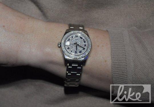 Часы Виктории Тигипко с первого дня UFW
